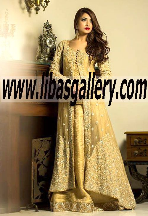 744fcd13fbc0 Buy Online Mifrah Bridal Sharara in Affordable Prices. Pakistani Designer  Mifrah Dresses Online Collection 2014