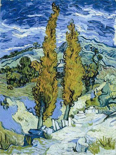 Van Gogh Two Poplars Plakater Henri Matisse Og Kunsthistorie