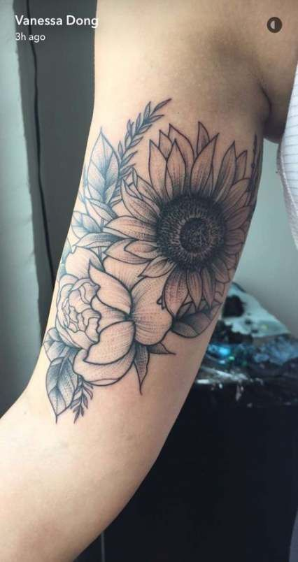 16 Ideas tattoo sunflower quote sunflowers for 2019