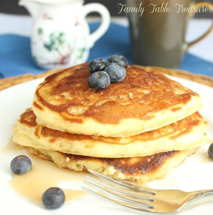Easy fluffy pancake recipe from scratch recipe fluffy pancakes an easy fluffy pancake recipe from scratch yup say good bye to the ccuart Gallery