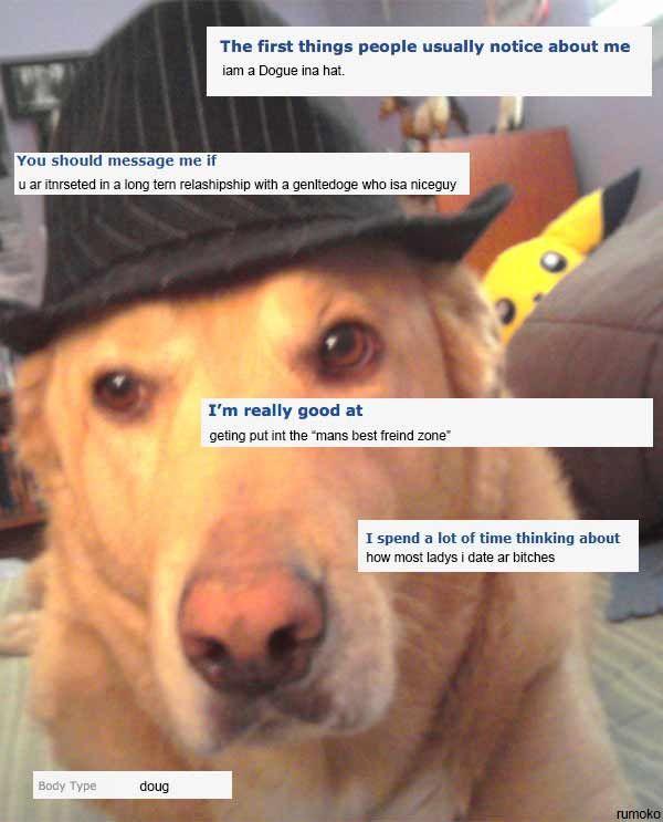 funny animal dating profiles