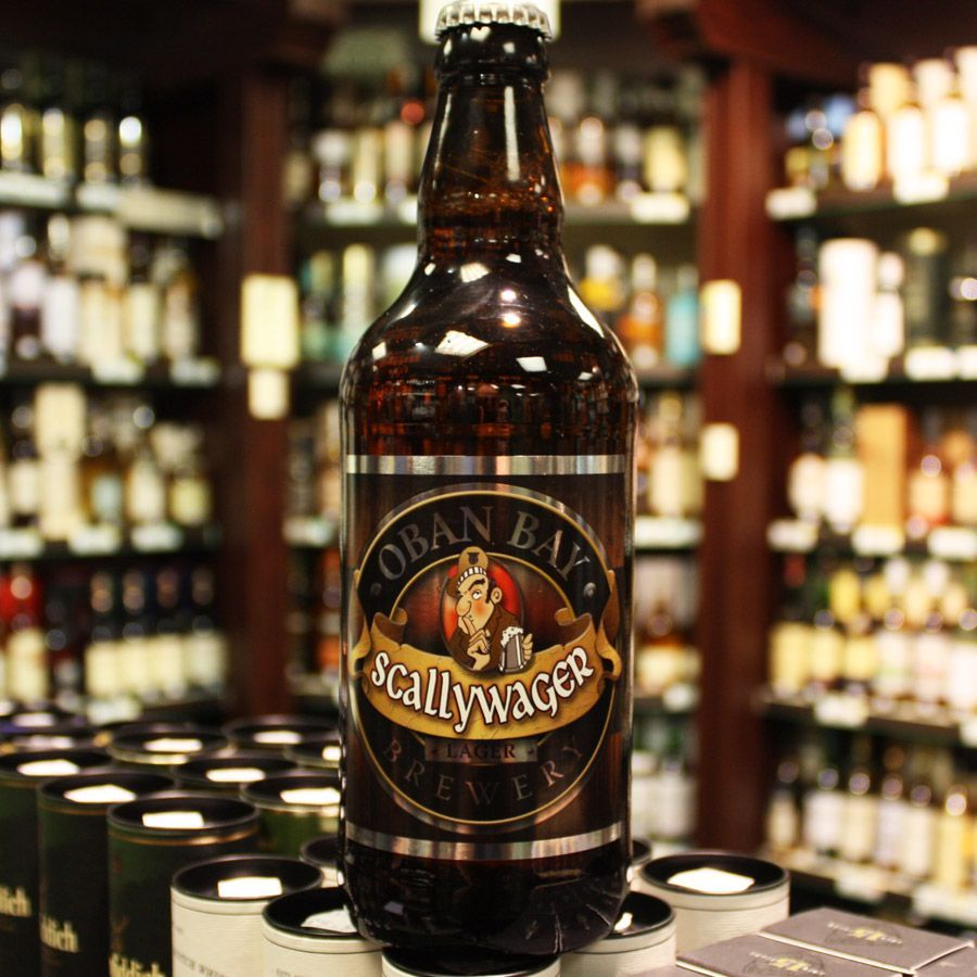 Oban Bay Brewery Scallywager (January) Beer bottle