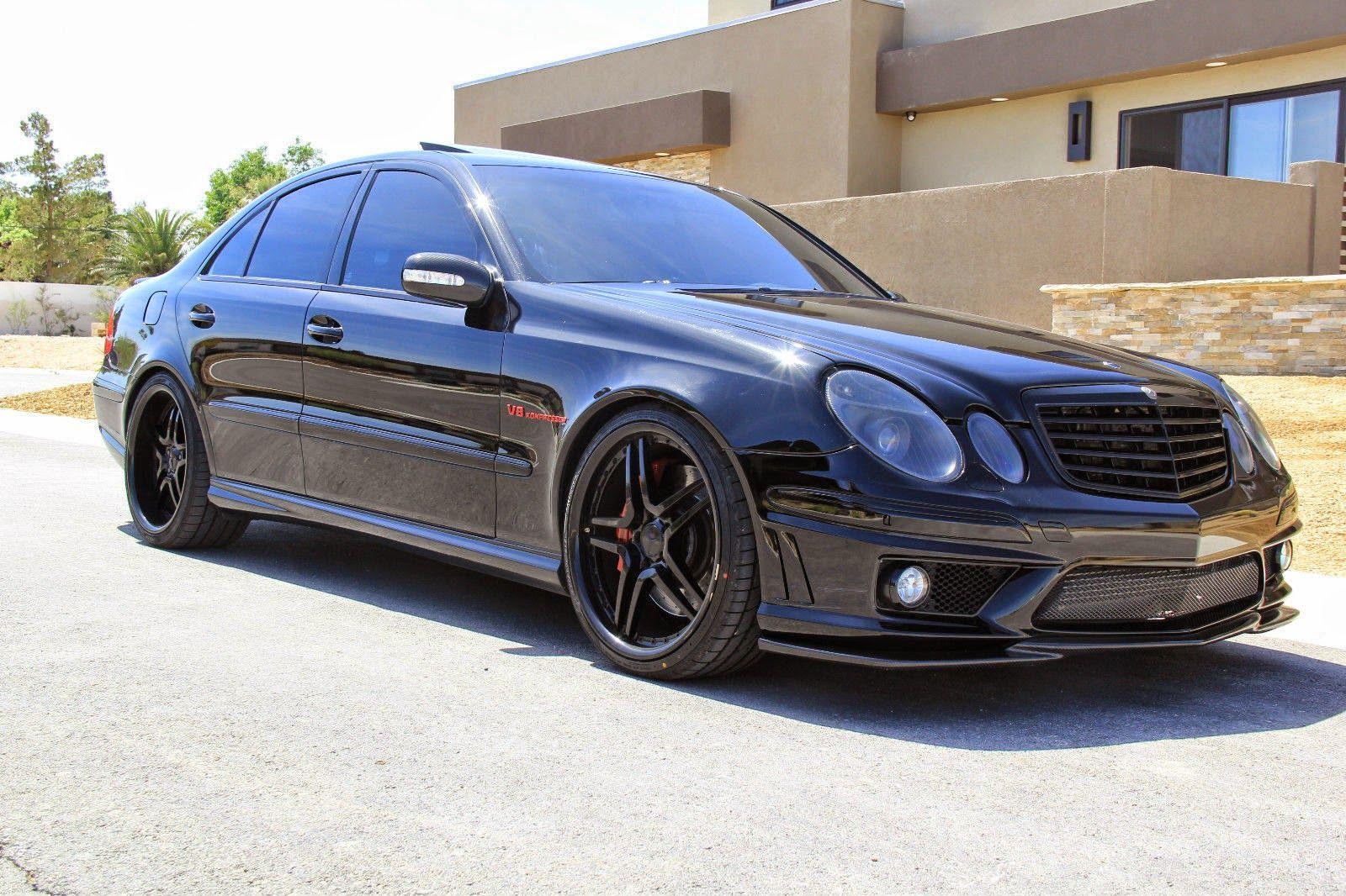 Mercedes benz w211 e55 amg renntech shadowline large for Mercedes benz e55 amg