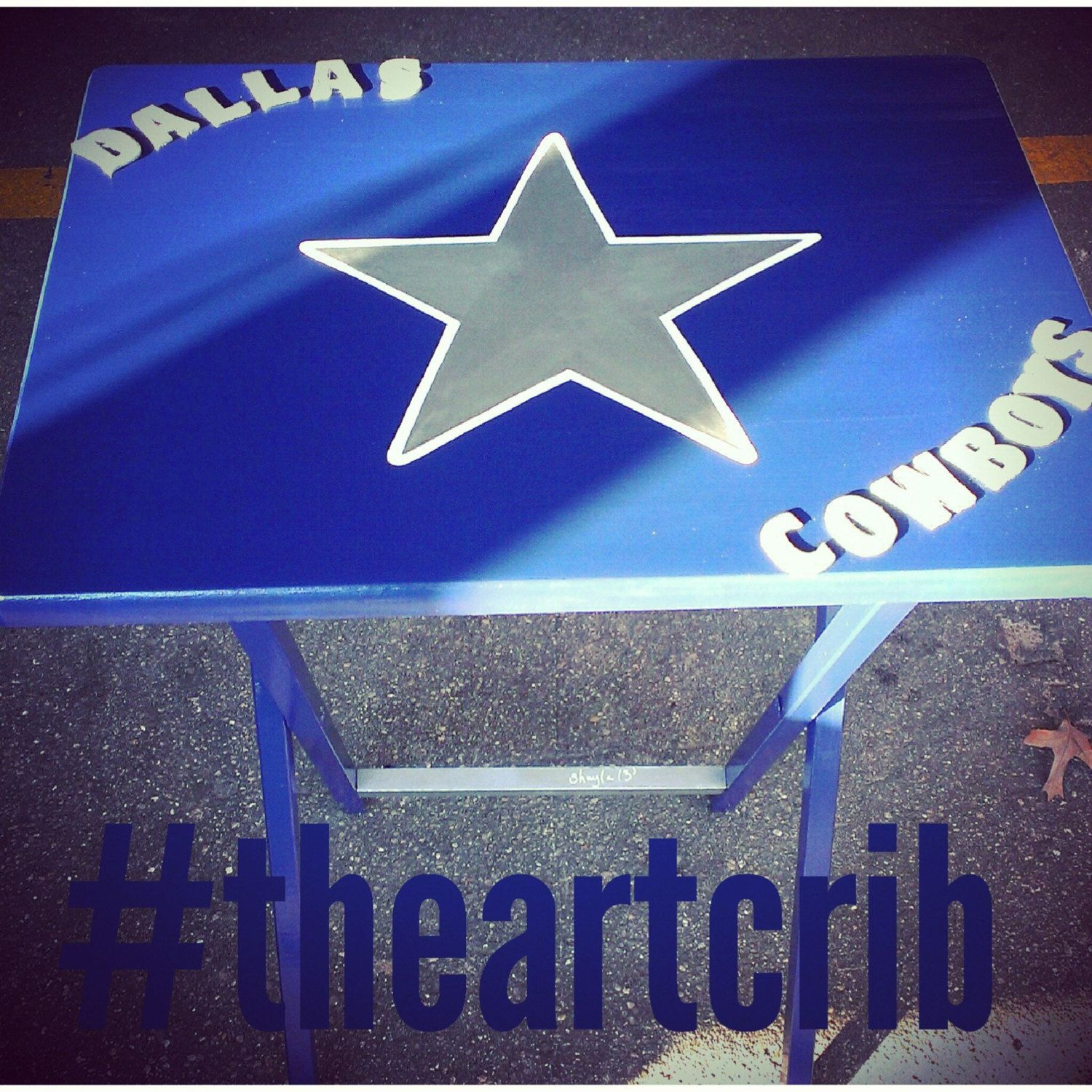 dallas cowboys folding chairs red leather office chair father 39s day gift idea for husband dad boyfriend custom