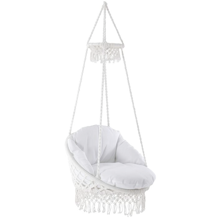 Codnor Swing Chair In 2020 Swinging Chair Macrame Chairs Macrame Swing