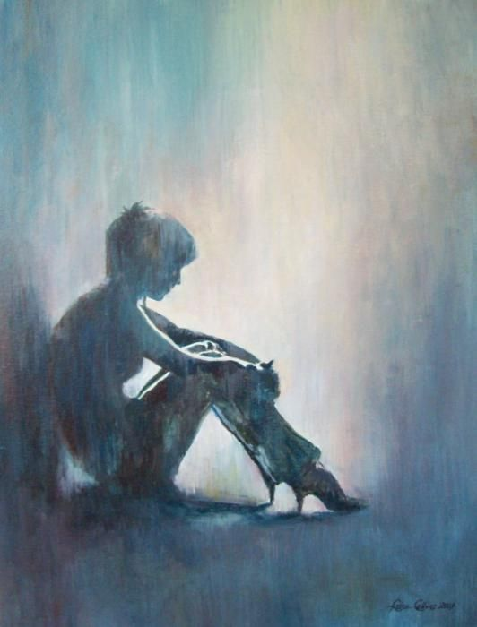 Image result for sad poverty abstract art pinterest