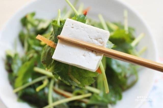 다이어트 요리, 두부 참나물무침 – 레시피 | Daum 요리