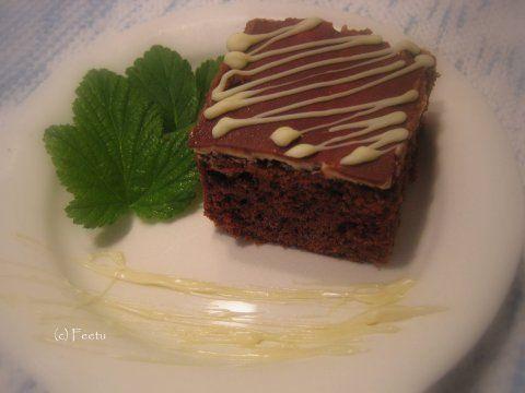 """""""Kinder"""" Chocolate Cake -  """"Kinder-piirakka"""" eli suklaapiirakka - feetu - Vuodatus.net"""