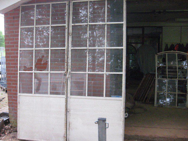 Stalen Deuren Tweedehands : Stalen deuren tweedehands