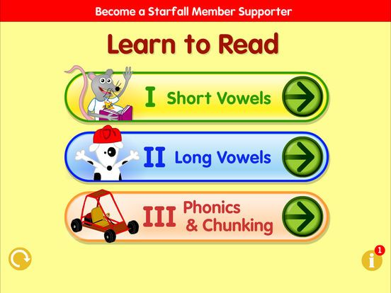 Starfall Learn to Read by Starfall Education Learn to