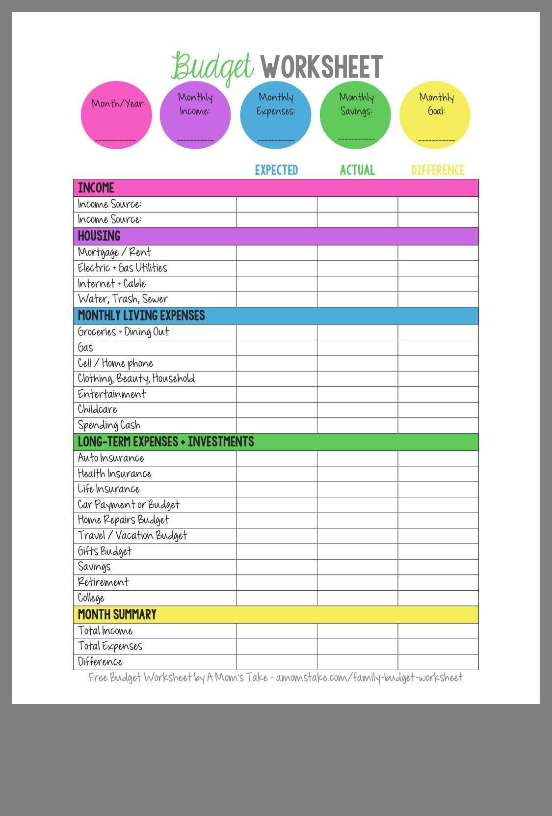 Pin By Gabby Cristobal On Budgeting