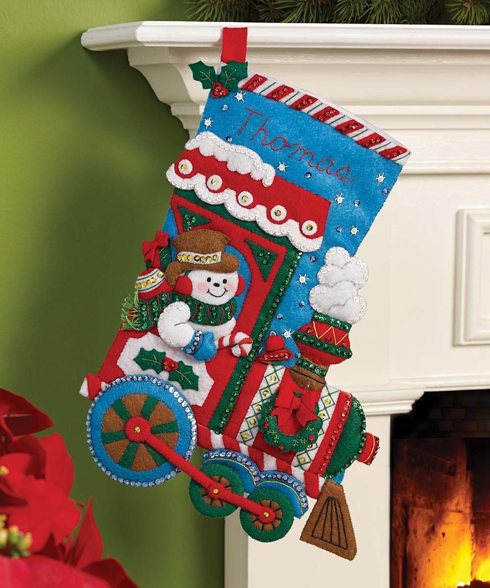 27+ Christmas felt crafts kits ideas