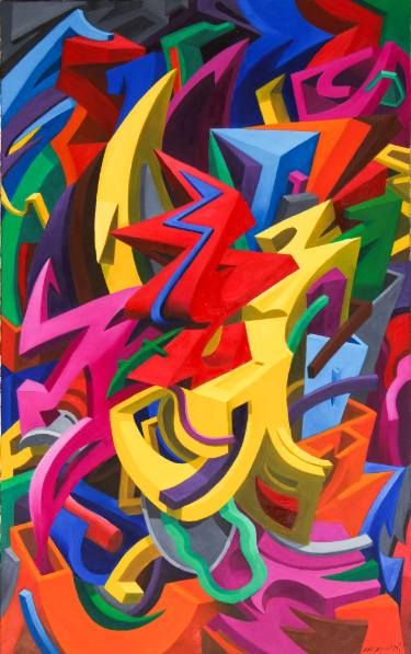 Saatchi Art Artist Marcos Silvio Inacio Painting Urbanus