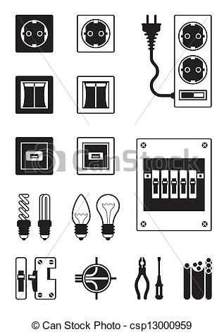 Electrical Engineering Vector Clipart Eps Images 1 816 Electric Electrical Engineering Projects Electrical Engineering Technology Electrical Engineering Humor