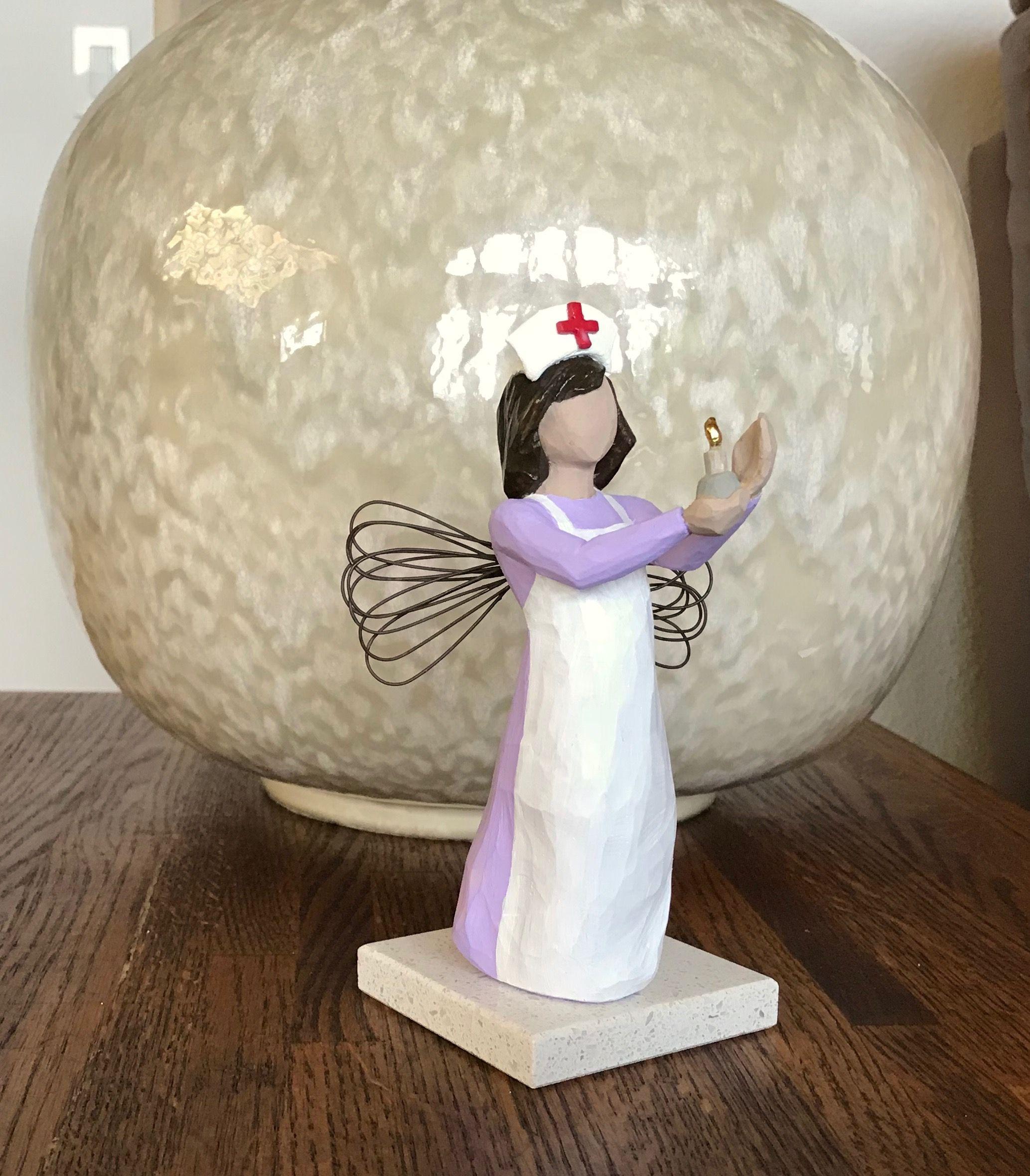 Nurse gift florence nightingale figurine