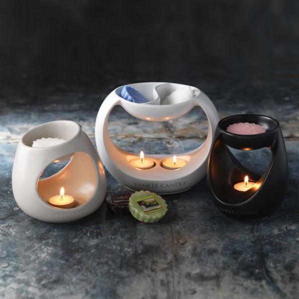 Yankee Candle – aromalampa Turning Stone, šedá - Svět bytových ...