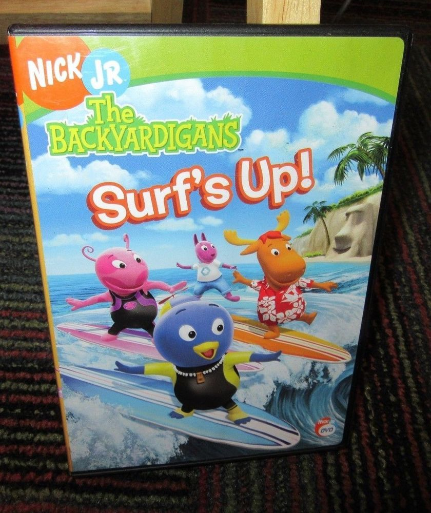 The Backyardigans Surf S Up Dvd Nick Jr 2 Great Episodes Riding
