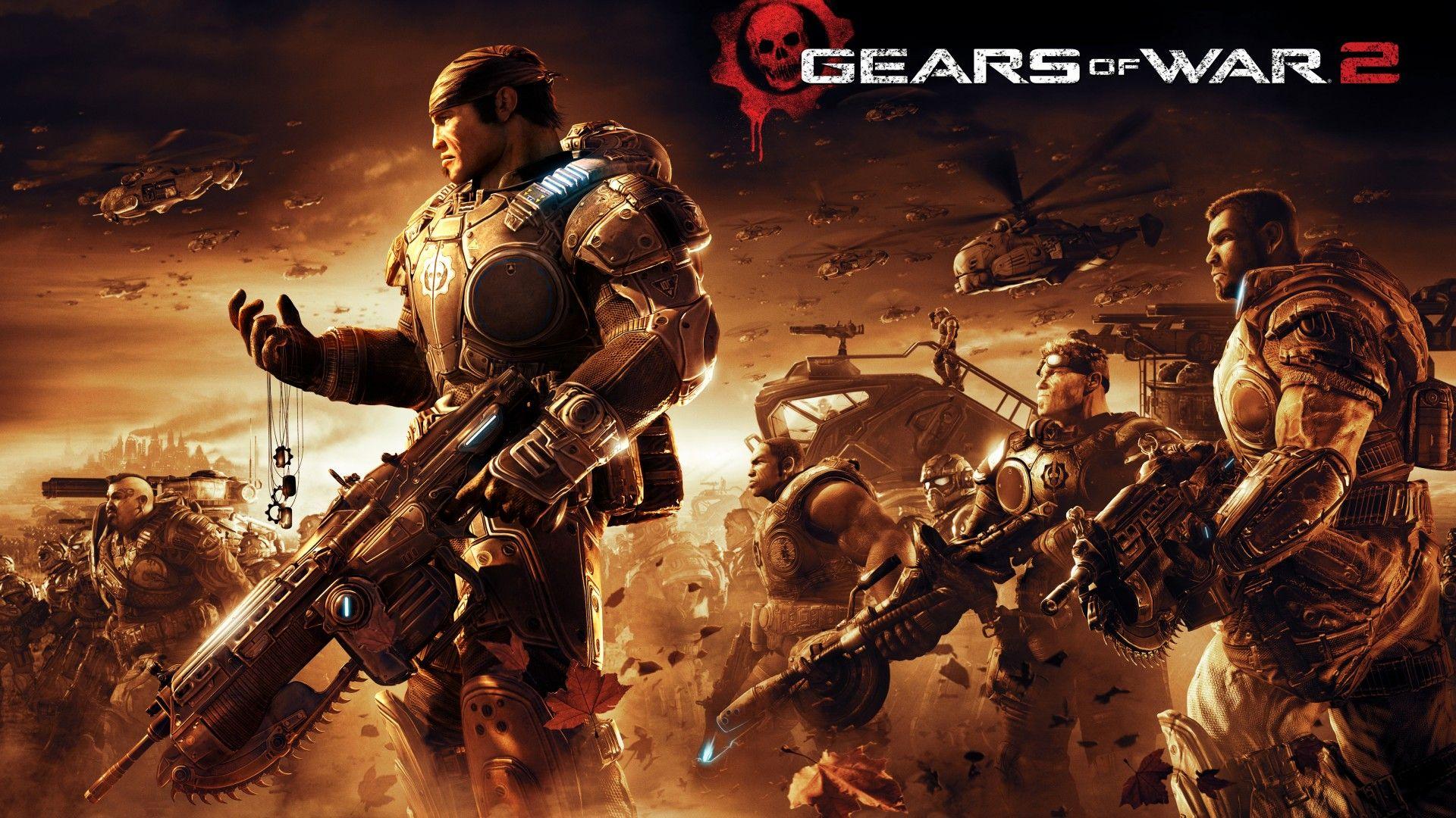 Gears Of War 2 Xbox 5k Gears Of War 2 Gears Of War