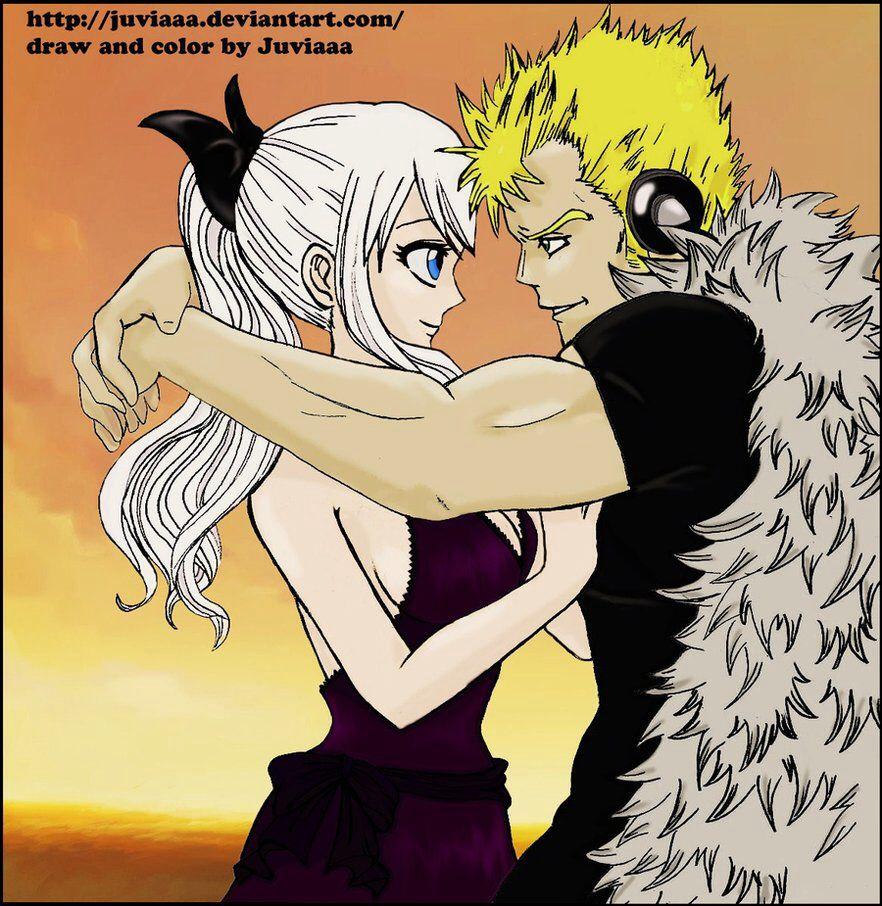 Mirajane and Lexus -Fairy Tail | Fairy tail ships, Anime