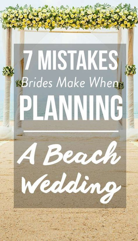 Beach Wedding Planning Tips   Beach Wedding Tips is part of information-technology - Find out the mistakes you shouldn't make when planning a beach wedding on SHEfinds com