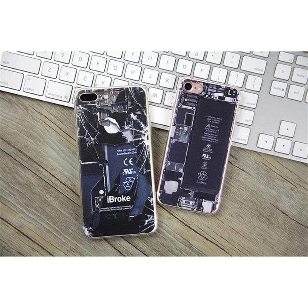Brokeninternal part design compatible iphone model