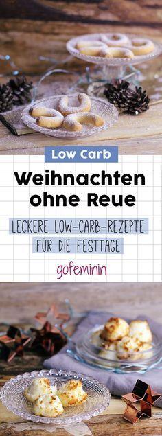 Wenig Kohlenhydrate, viel Geschmack: 3 leckere Rezepte für Low-Carb Plätzchen #lowcarbdesserts