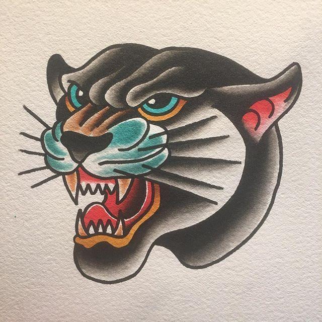 Bildergebnis für Old School Panther Tattoo Flash -  Bild Ergebnis für Old Scho...,  #Bild #Bildergebnis #Ergebnis #Flash #für #oldschoolideas #Panther #Scho #School #tattoo