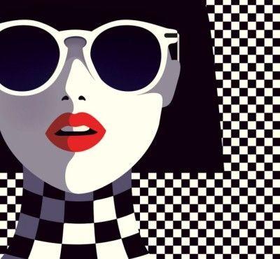 """Muchas más Ilustraciones de Malika Favre como ésta las puedes encontrar en el apartado de """"Recortes"""" del """"Blog de Creatividad de Marielo García"""""""