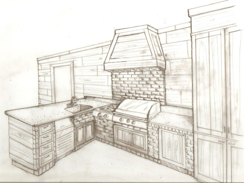 Asbury interiors sketches interior art pinterest interior sketch sketches and drawings Kitchen design software for beginners