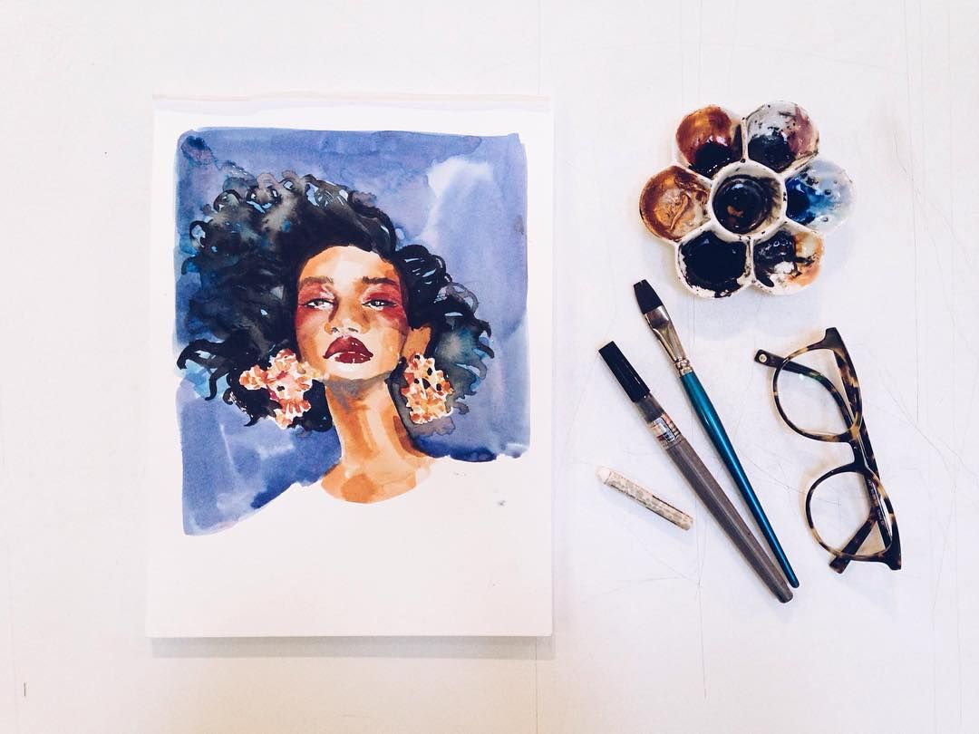 Bits and pieces of my life as an illustrator and instructor in Oakland, CA. // fashion illustration / portraits / live drawing