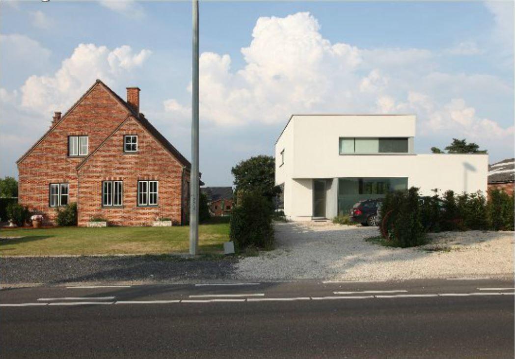 Landelijke en moderne woningen in harmonie naast elkaar home sweet home pinterest for Moderne villa decoratie