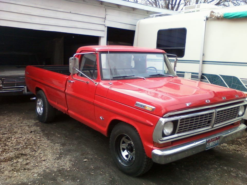 Old Ford Trucks : Beautiful old quot red ford pickup favorite pictures and