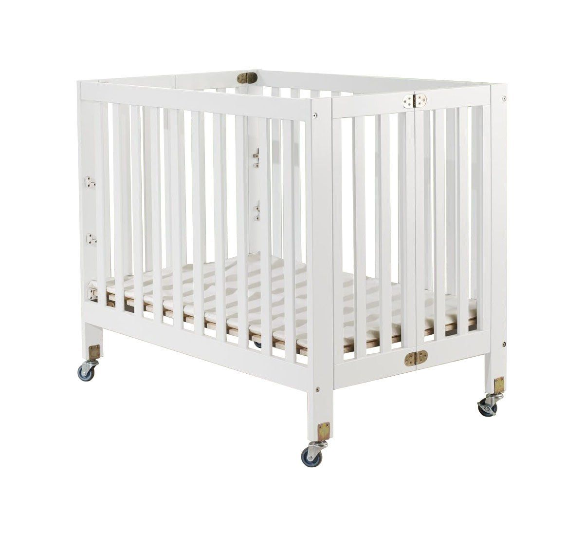 Light portable crib for babies - Orbelle Trading Roxy Three Portable Crib White Cpsa Approved Roxy Portable 3 In 1