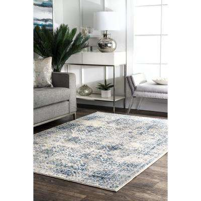 Nuloom Tarnish Hazy Mysterious Blue 8 Ft X 10 Ft Area Rug Rzbd27b 8010 The Home Depot In 2020 Living Room Designs Living Decor Living Room Decor