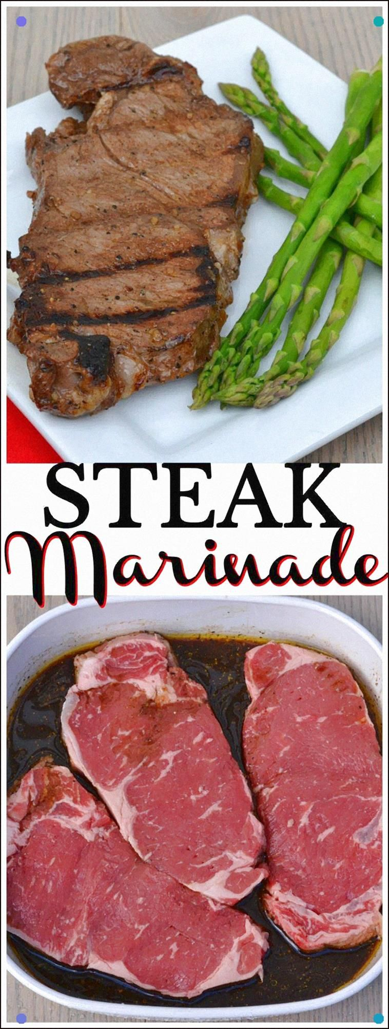 A Quick, Simple and Delicious Steak Marinade Made With Basic, On Hand Ingredients #Ad #Foodlion #Grilling #Steaks Foodlion