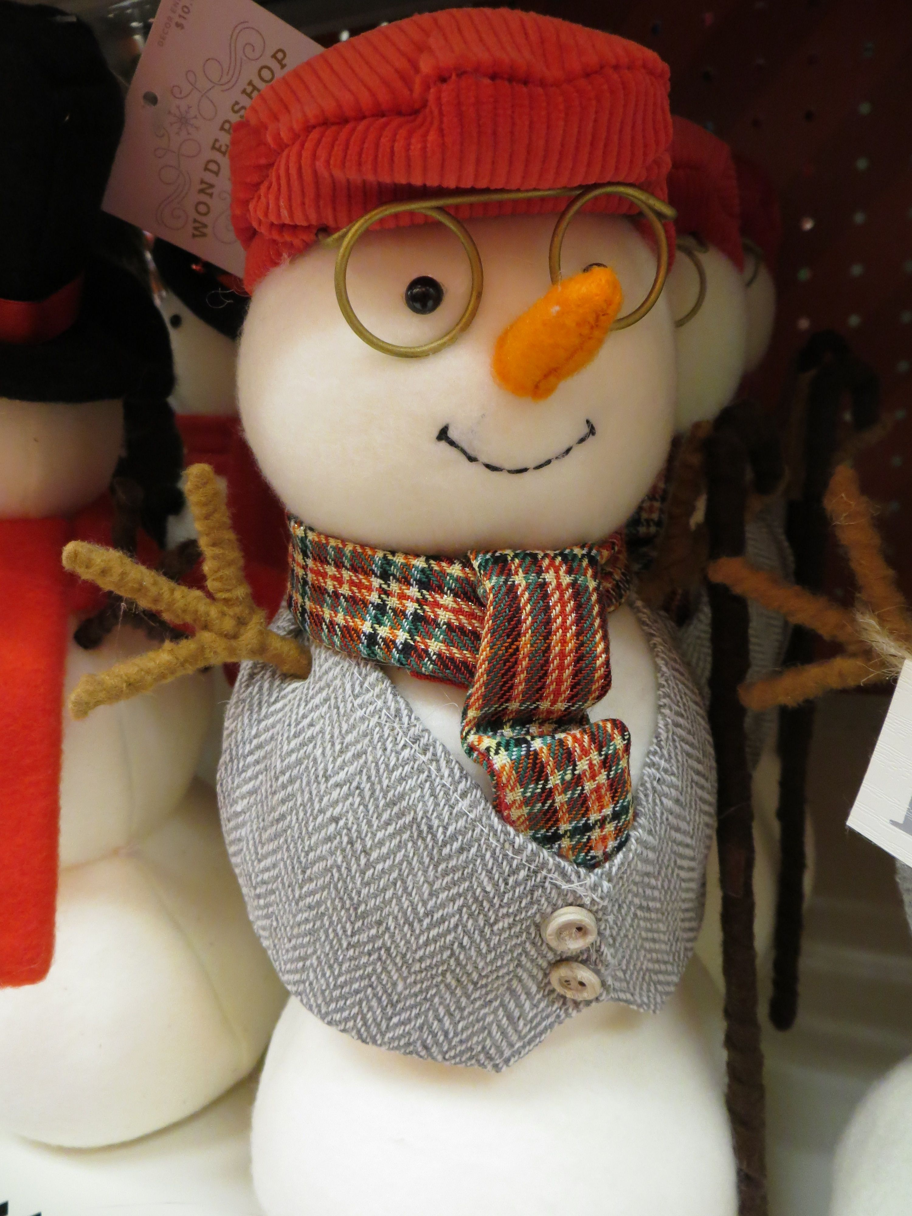 Snowman With Glasses Photo By Frederick Meekins Crochet Hats Crochet Hats