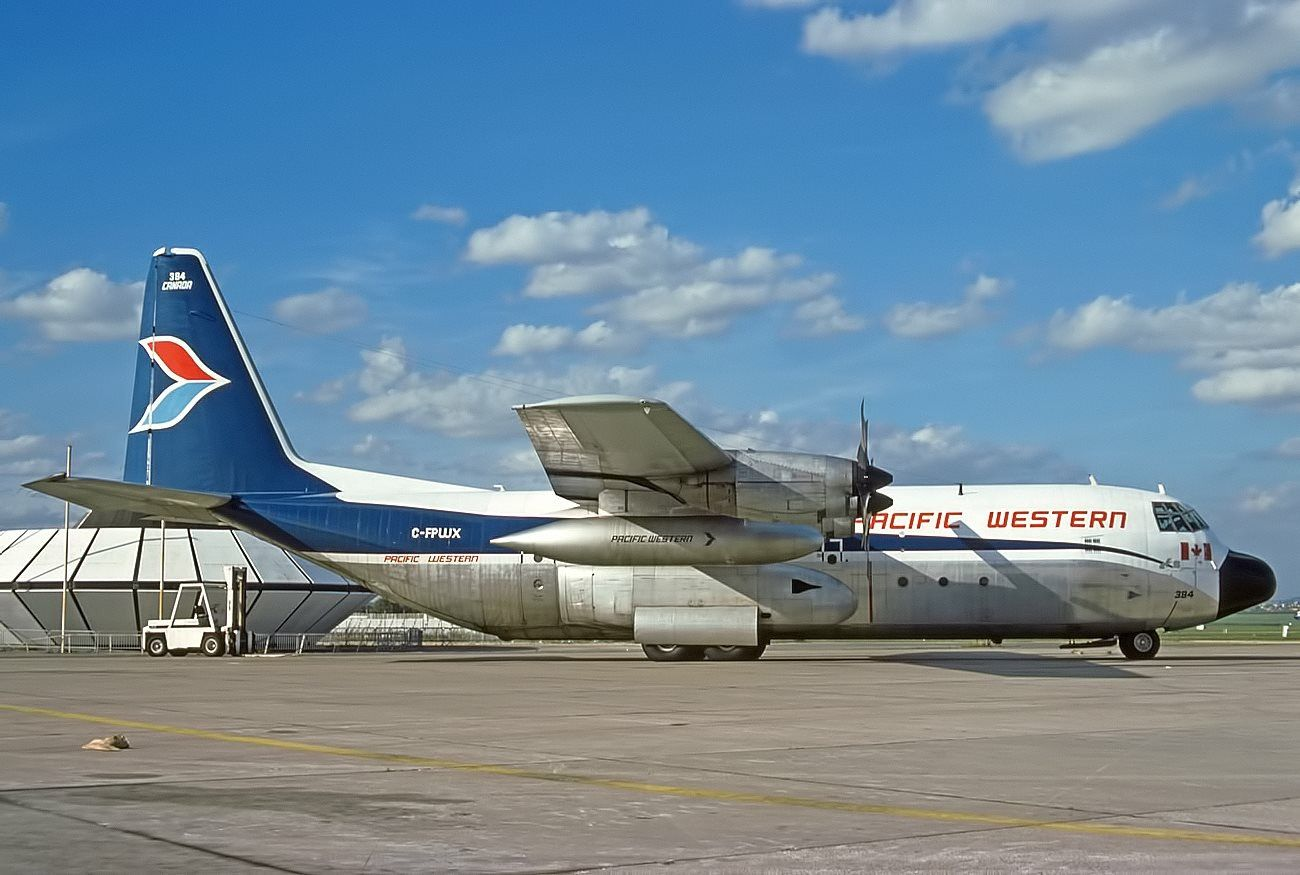 Pacific western airlines cfpwx lockheed l oct fernando