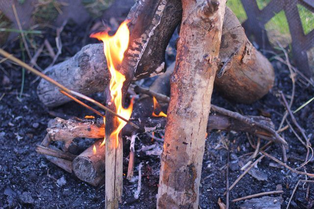 How To Start A Fire In A Fire Pit Hunker Fire Pit Fire Pit