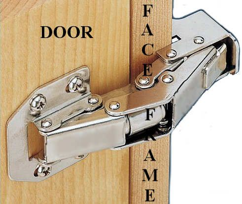 No Bore Face Frame Concealed Hinge 90 Degrees Lq H05702 Np A Concealed Hinges Framed Cabinet Hinges