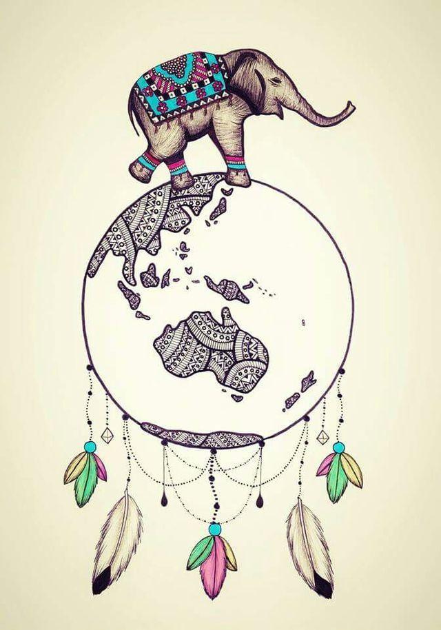 D41eb66f025924d17798a39825e86891 Jpg 640 914 Piksel Elefante Mandala Arte De Elefante Fondos De Pantalla Elefantes