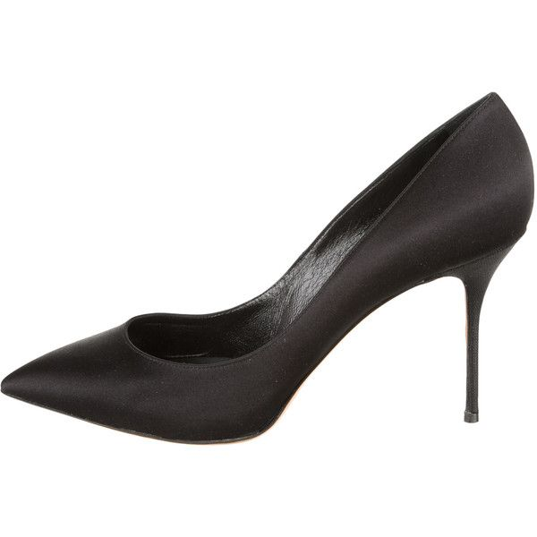 Pre-owned - Black Leather Heels Casadei ZyW1I63D5B