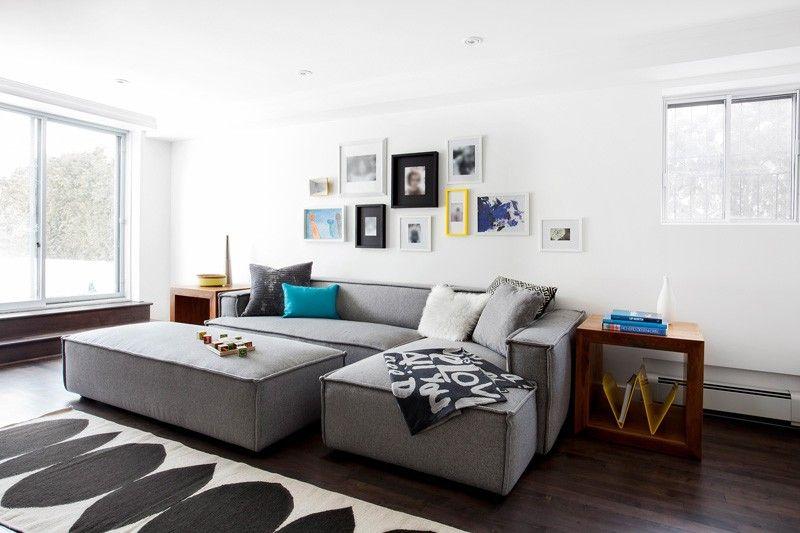 Mooie elementenbank met chaise longue Woonideeën Pinterest