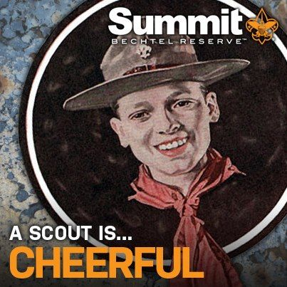 Image result for cheerful scout