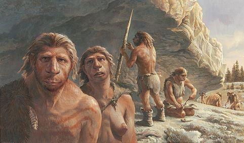Neanderthals By Michael Hagelberg Ancient Humans Ancient People Prehistoric Man