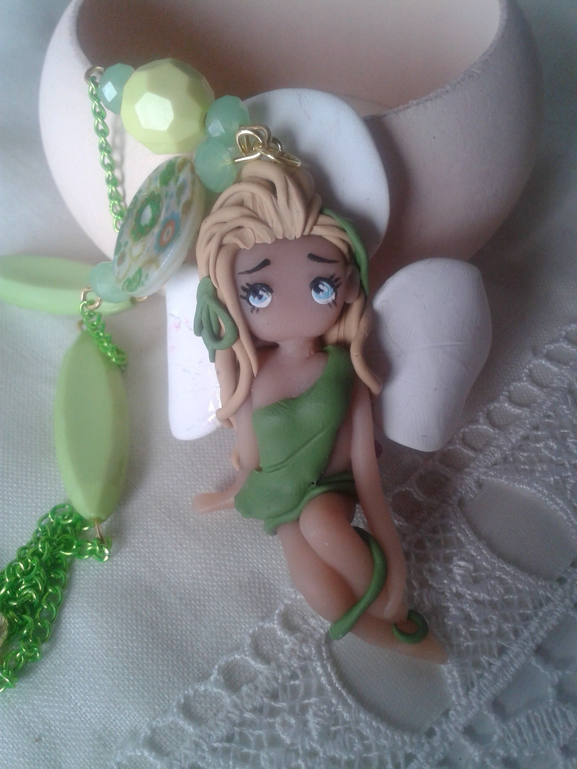 orchidea # fimo # girl