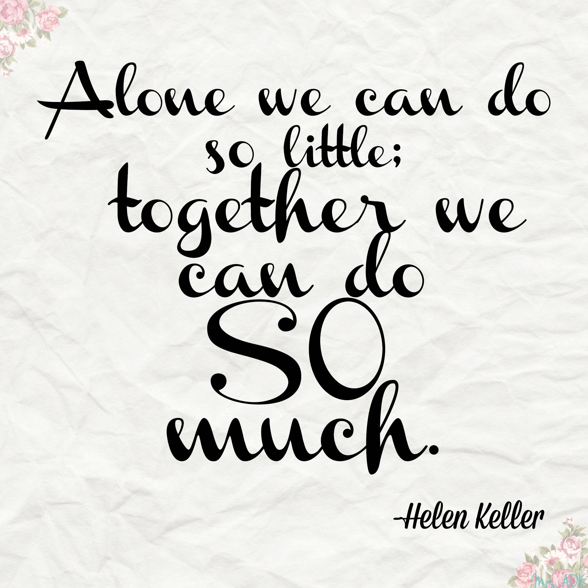 Lets Work Together Quotes Quotesgram