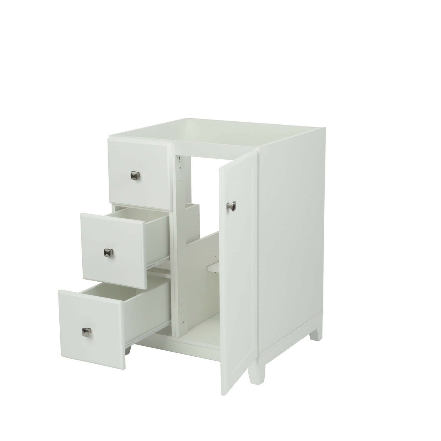 Design House 547125 Shorewood 1 Door 2 Drawer Vanity With 24 White Bathroom Vanities Without Tops House Design Furniture Style
