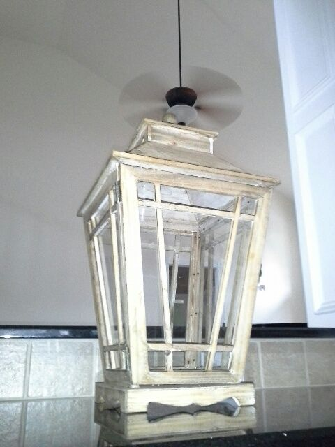 How to make a stained glass lantern step by step tutorial - Debbiedoo's