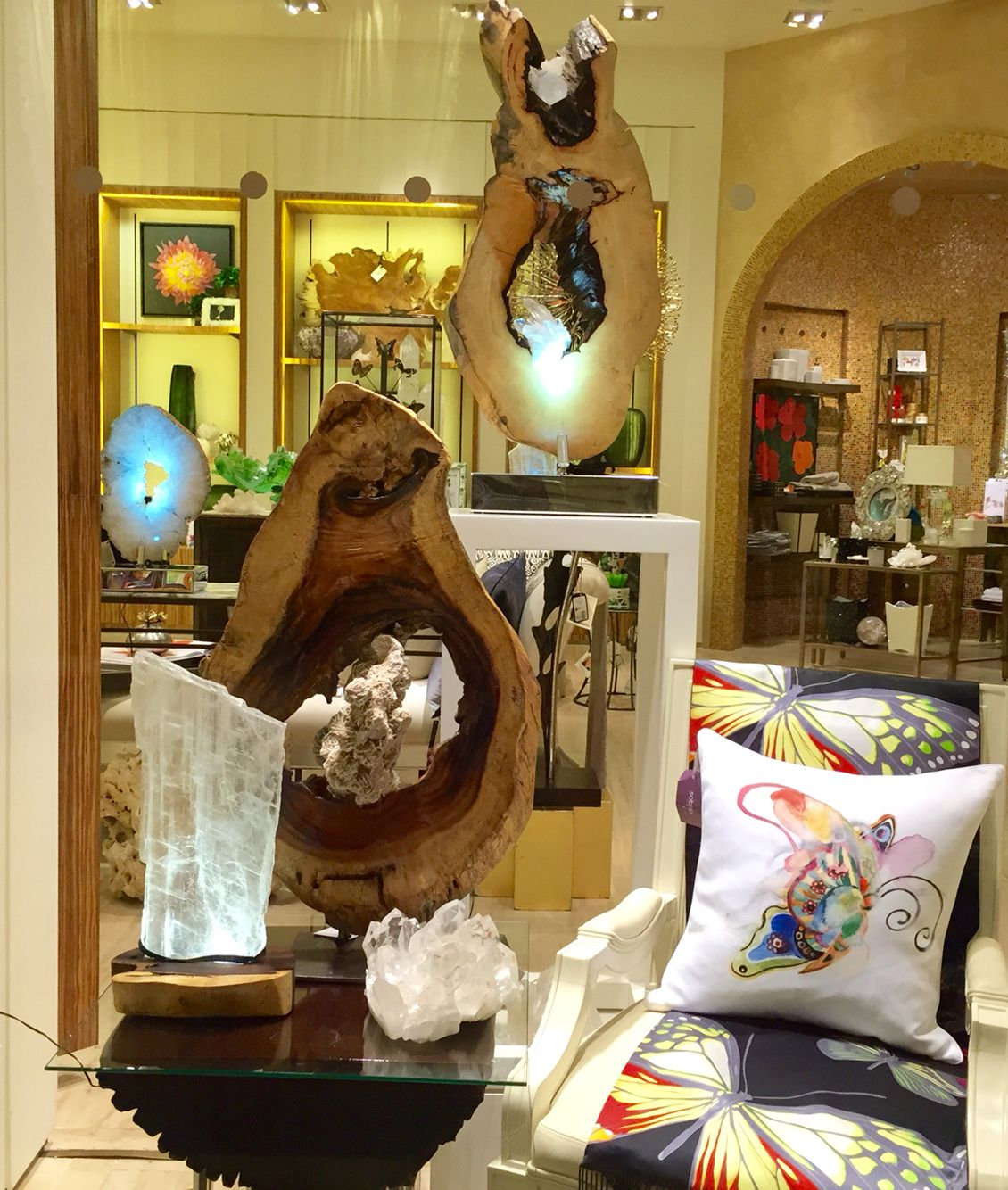 Feeling At Home At The Home Store Wynn Las Vegas.