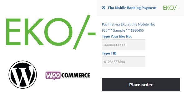 Do You Live In India Do You Have A E Commerce Site Great Add Eko Mobile Banking Payment Option As An Extra E Comm Mobile Payments Mobile Banking Woocommerce